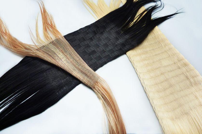 Protocole de tricotages de cheveux en trame