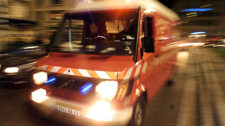 Les marins-pompiers de Marseille (illustration)