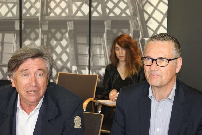 Jacques Legros et Pascal Blanc