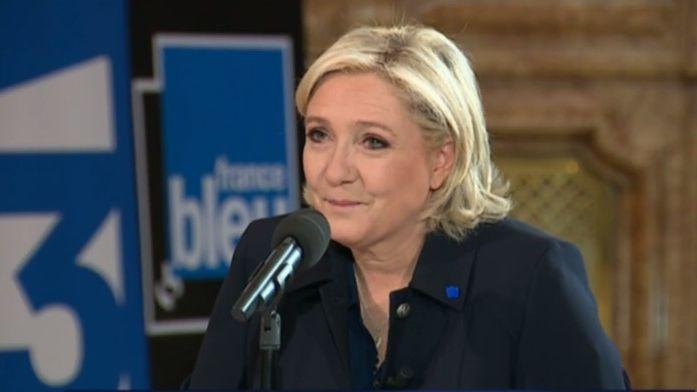 Marine Le Pen invitée de France Bleu et France 3