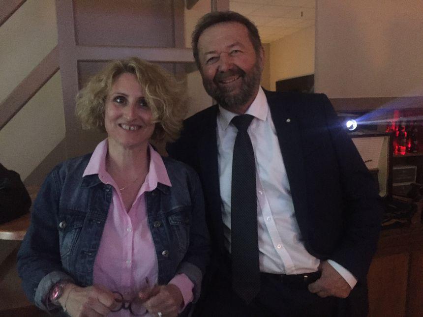 Michel Delpon et Chrystelle Gardette soutiens d'Emmanuel Macron