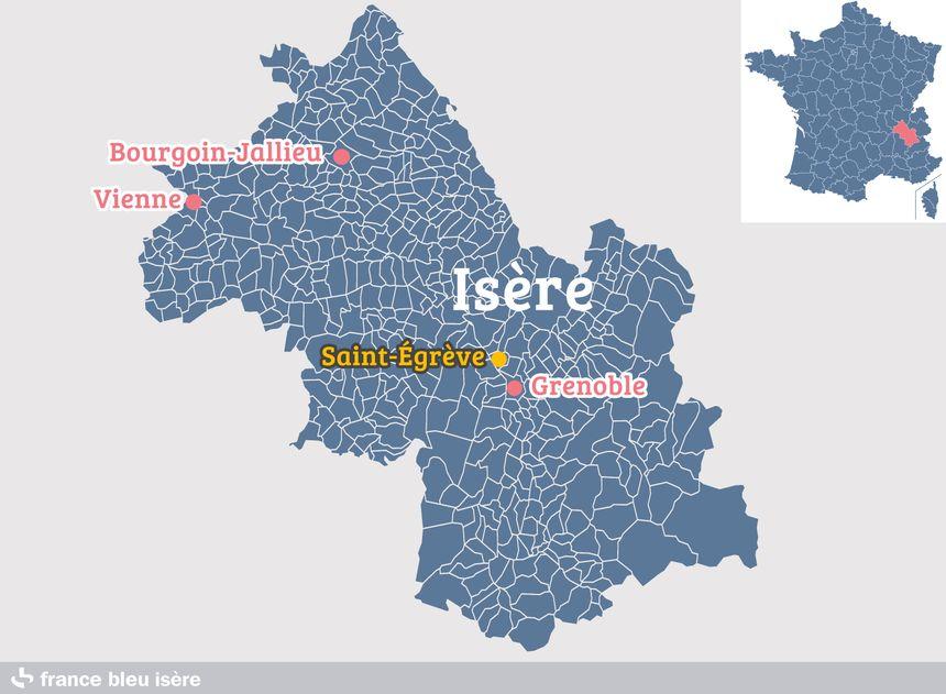 Saint-Égrève, en Isère