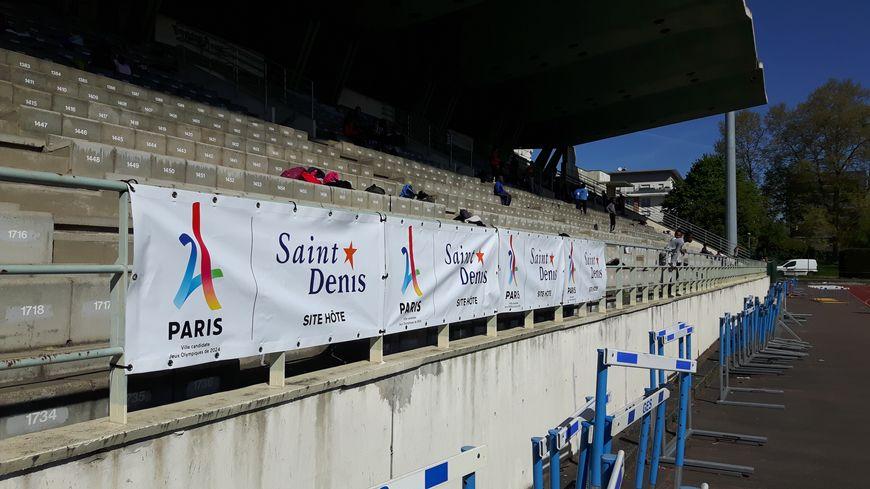 Au stade Auguste Delaune de Saint-Denis