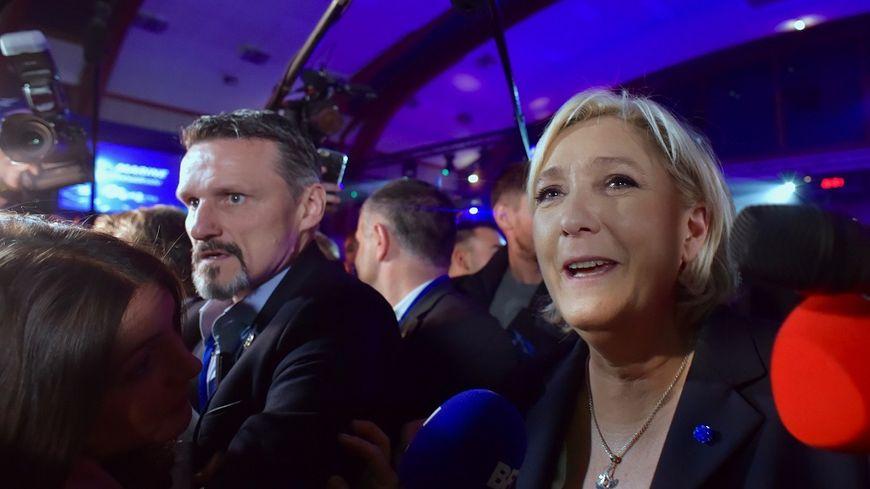 Marine Le Pen décroche 32,4% des voix dans les Ardennes et 28,07% dans la Marne