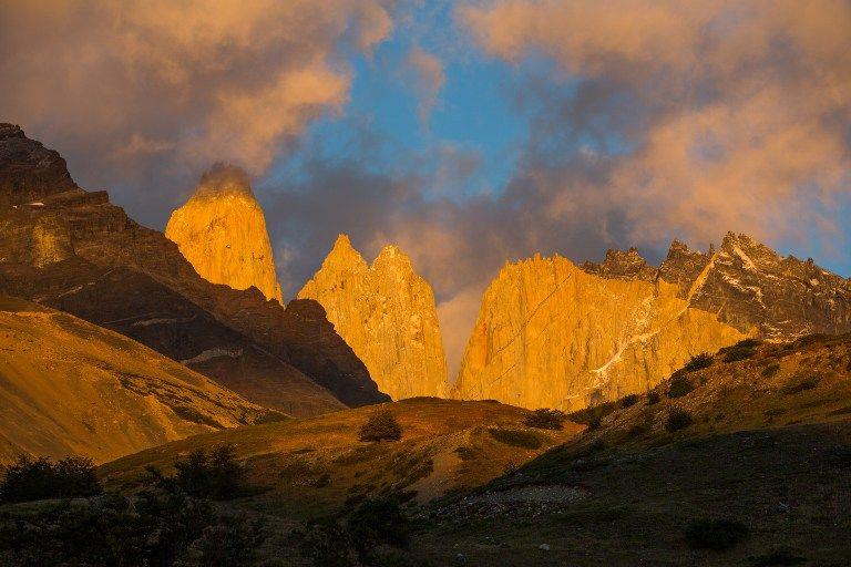 Parc National Torres del Paine en Patagonie chilienne