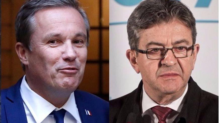 Nicolas Dupont-Aignan a apporté son soutien à Marine Le Pen vendredi, Jean-Luc Mélenchon a affirmé qu'il ne votera pas FN, sans donner de consigne.