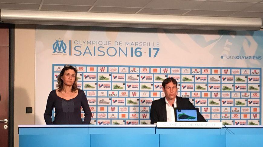 Rudi Garcia, entraîneur de l'Olympique de Marseille