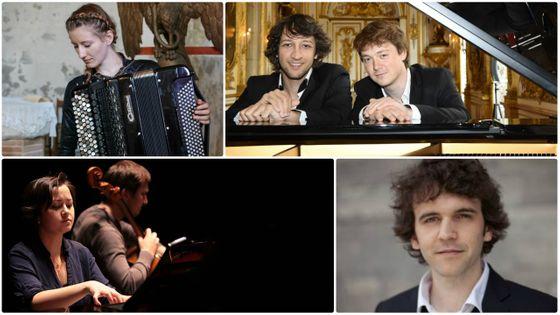 Basha Slavinska ; Alexandre Lory et Clément Lefebvre ; le Duo Urba ; Pierre Lelièvre (DR)