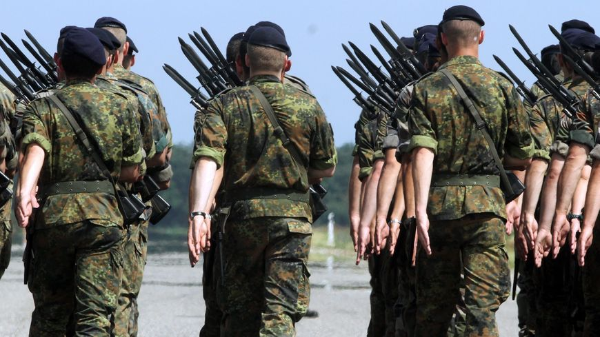 La brigade franco-allemande, basée à Müllheim (Allemagne)