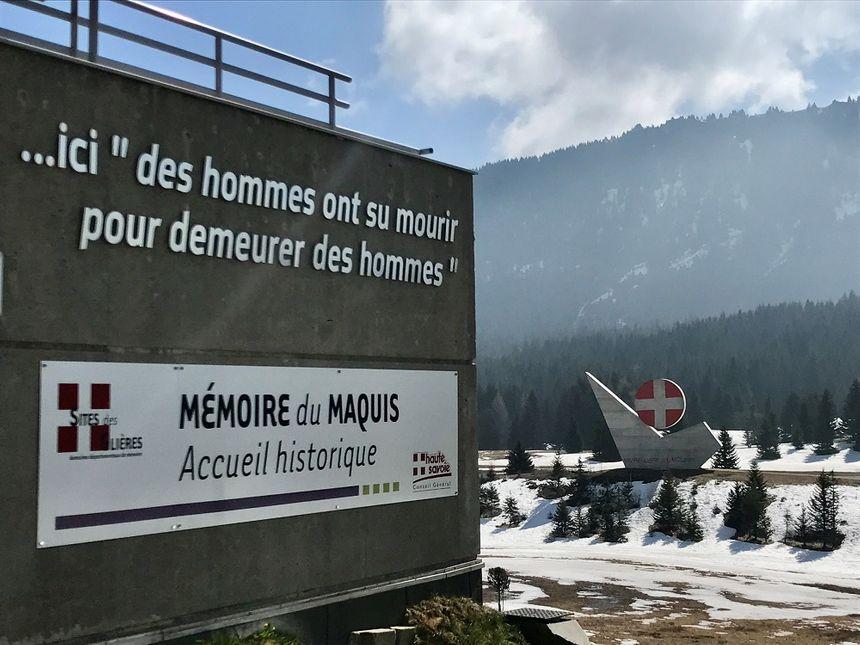 """Ce monument est """"un symbole auquel on ne touche pas"""", indique une habitante du plateau des Glières."""