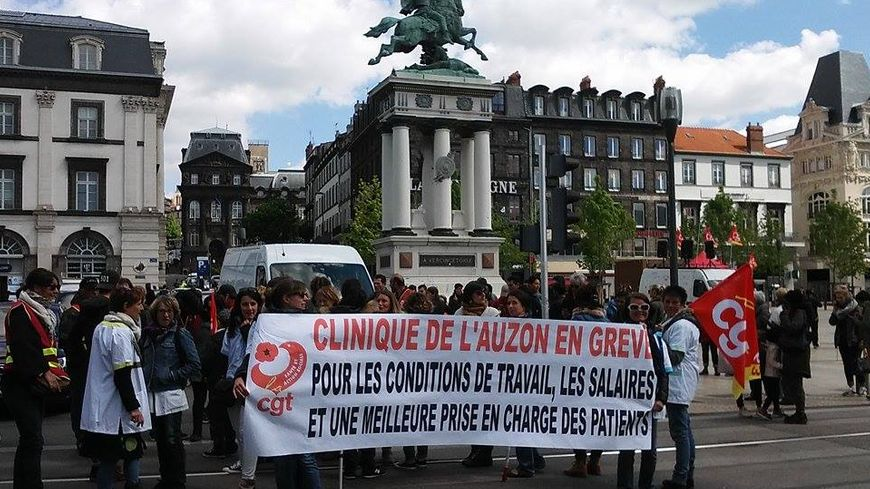 Les salariés de la clinique de l'Auzon en grève depuis trois semaines