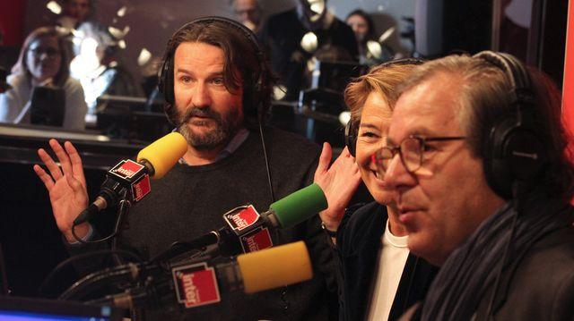 Frédéric Beigbeder, Hélène Jouan et Jérôme Garcin