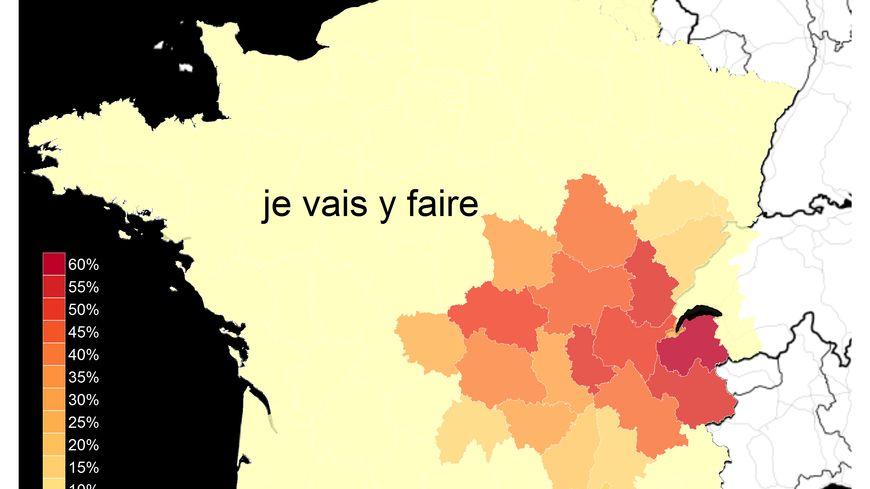 """Le linguiste savoyard Mathieu Avanzi a étudié la répartition géographique du """"Y savoyard"""""""