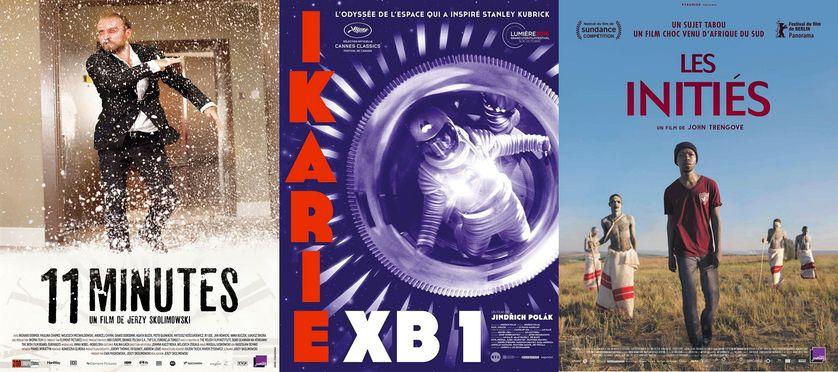 Affiches des films: 11 minute, Ikarie XB1, Les initiés