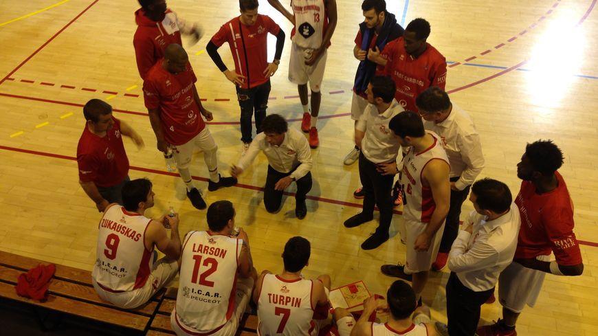 Les basketteurs de Saint-Chamond (photo illustration)