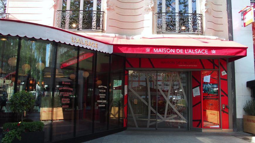 La Maison de l'Alsace à Paris