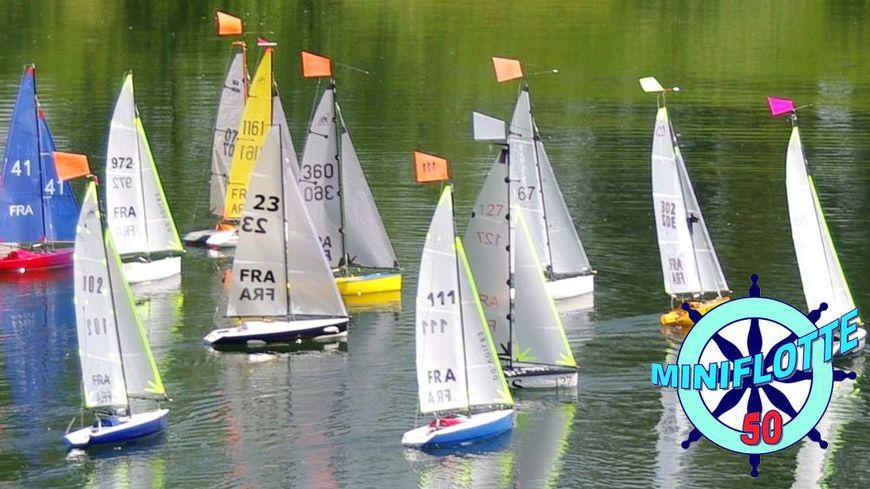 Championnats de France Maquettes de bateaux à Marigny-le-Lozon dans la Manche avec France Bleu Cotentin