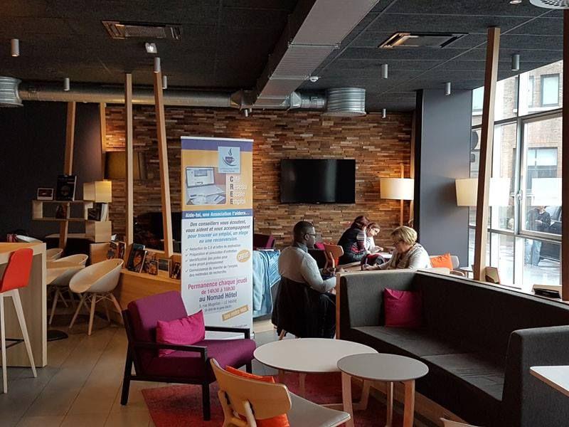 Café Réseau Escale Emploi au Nomad Hotel du Havre
