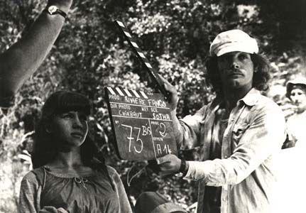 Sur ke tournage d'Au Long de Rivière Fango de Sotha en 1974