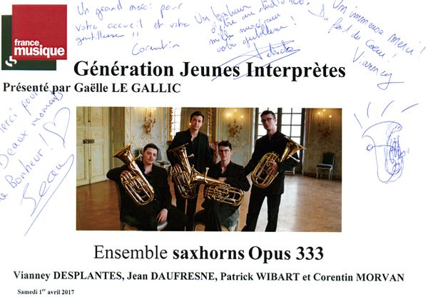 Livre d'Or Opus 333