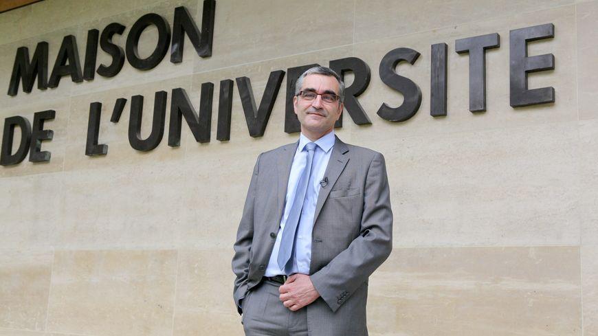 Alain Bonnin président de l'Université de Bourgogne