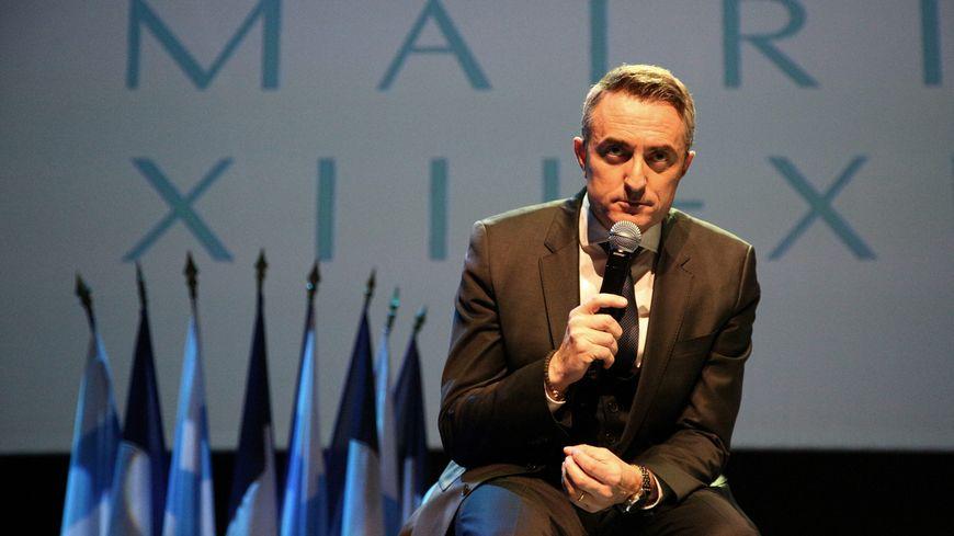 Stéphane Ravier, le maire des 13e et 14e arrondissements de Marseille, le 11 janvier 2017.