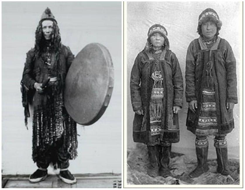 Un chamane youkaguir (1902) / Yukaghirs from Yakutia (1905)