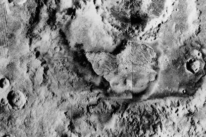 Le sol de Mars en 1976