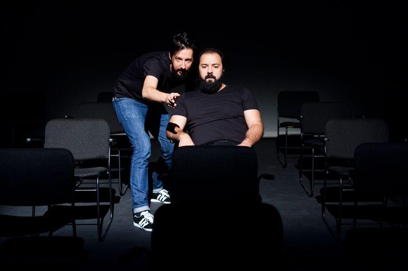 Emmanuel Schwartz et Mani Soleymanlou, répétitions
