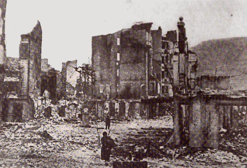 Gernika en ruine