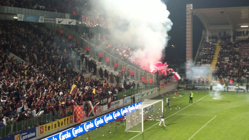 Le derby Metz-Nancy du 24 septembre 2013 avait dégénéré.