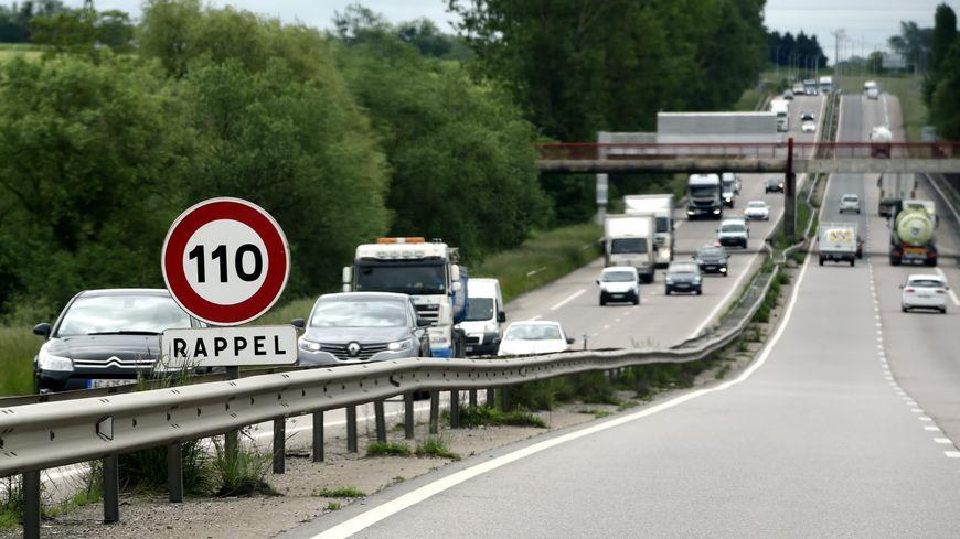 Limitation de vitesse à 110 km/h