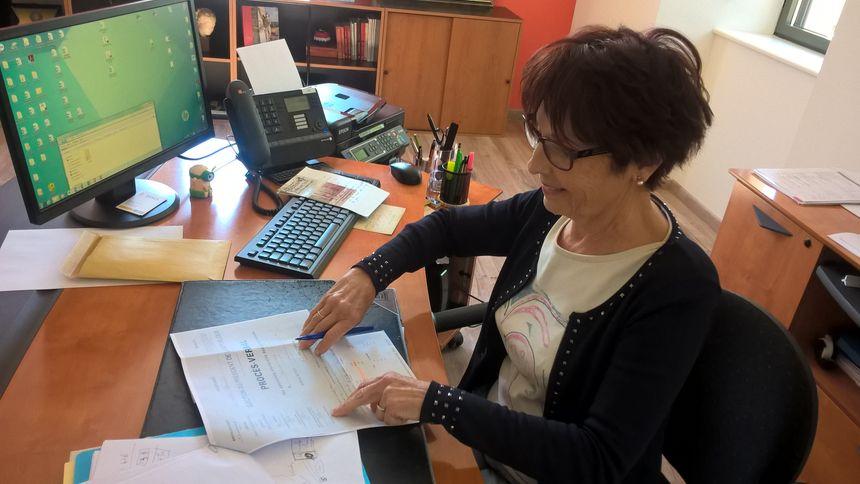 Michèle Garrigues, la maire de Belberaud.