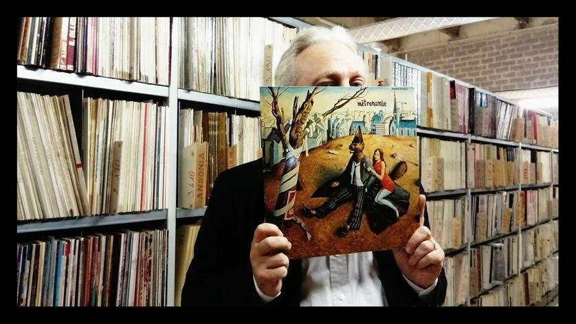 Yves Bigot et le vinyle Métronomie de Nino Ferrer