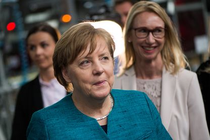 La chancellière allemande Angela Merkel