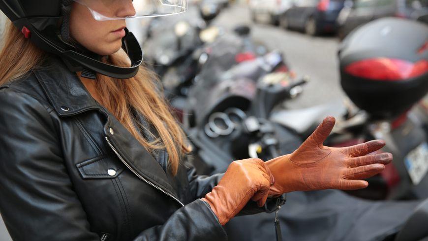 Où garer sa moto ? (illustration)