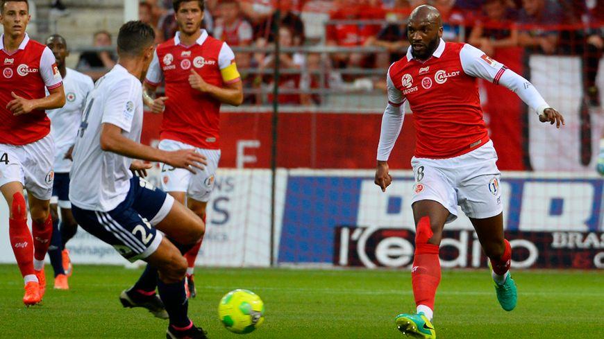 Danislon Da Cruz a inscrit deux buts face à Niort.