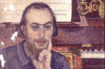 Portrait d'Erik Satie par Antoine de la Rochefoucauld