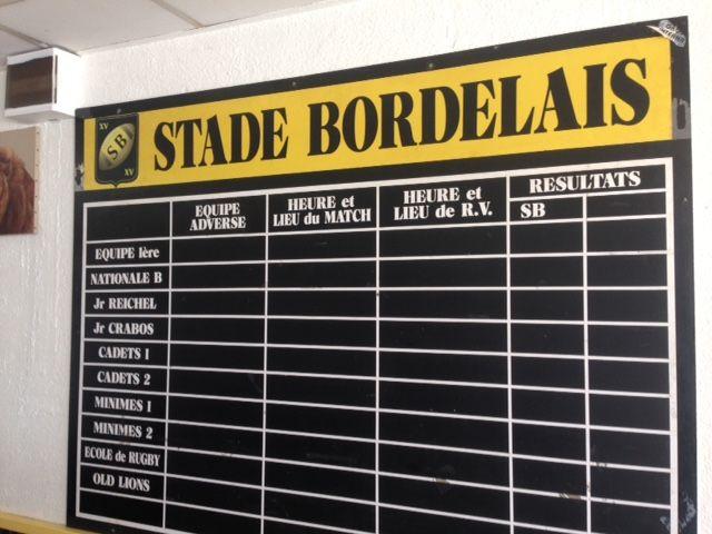 Le Stade Bordelais / ASPTT est aujourd'hui le pus gros club du comité Côte d'Argent.