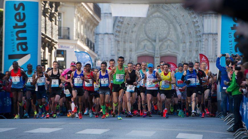 3500 coureurs participent cette année à l'édition 2017 du marathon de Nantes (photo d'illustration)