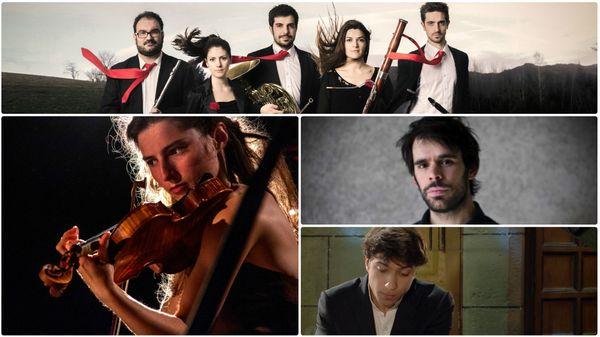 Josquin Otal ; l'Ensemble Azahar ; Anna Göckel et Tanguy de Williencourt