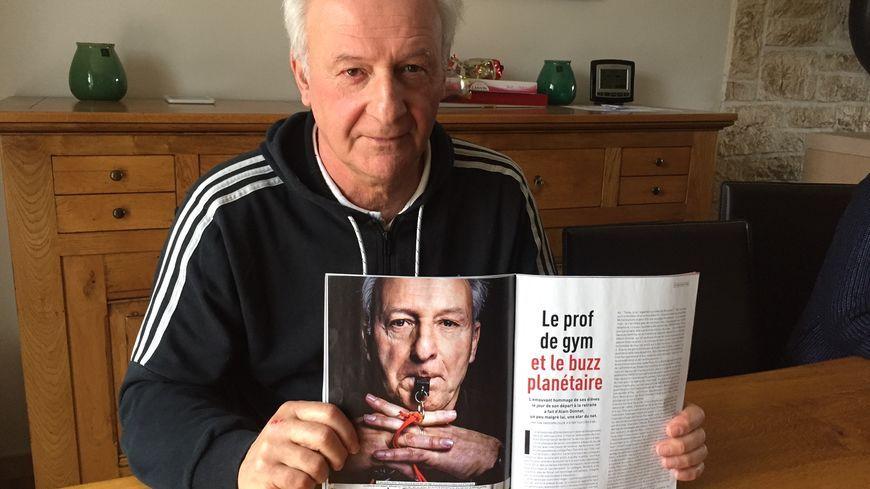 Alain Donnat, ancien prof de sport à Is-sur-Tille