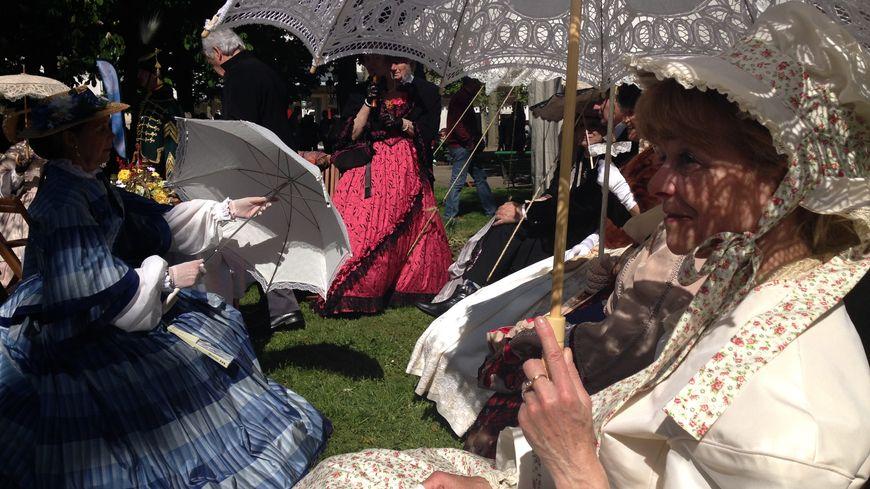 Les dames costumées à la fête de Napoléon III