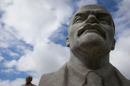 Statue de Lénine à Moscou