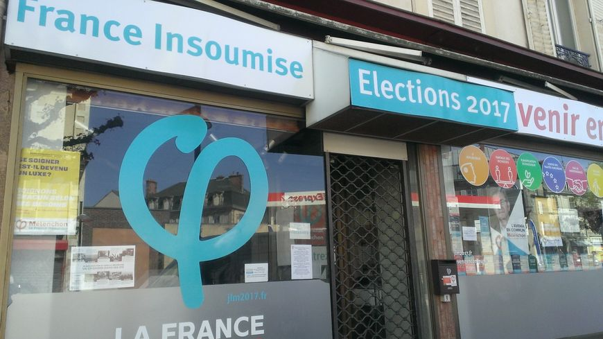 La permanence de la France Insoumise en Haute-Vienne