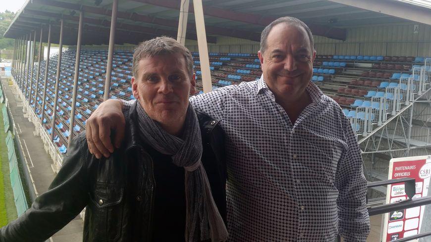 Le manager Richard McClintock et l'entrepreneur André Roibet sont les deux porteurs du projet présenté jeudi