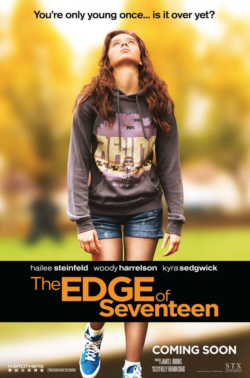 l'affiche de The Edge of seventeen de Kelly Fremon Craig