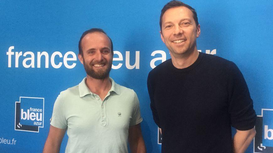 Neil Baille du Restaurant AC Ambassadeur d'Antibes est l'invité d'Eric Charay