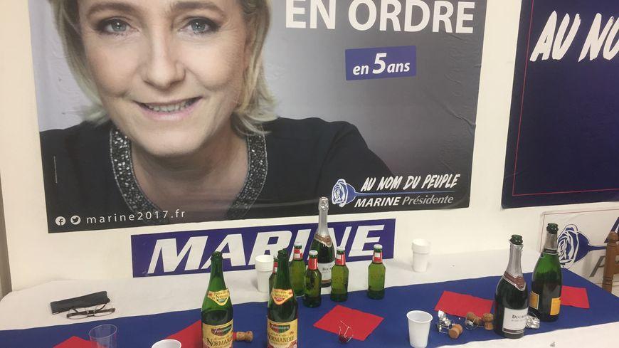 Marine Le Pen arrive troisième en Dordogne avec 20,93% des votes