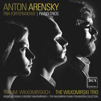 Trio n°1 en ré min op 32 : 2. Scherzo - pour violon violoncelle et piano